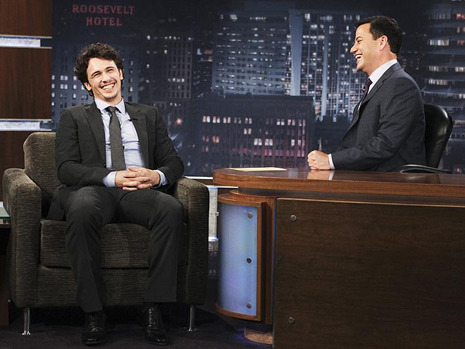 photo | James Franco, Jimmy Kimmel