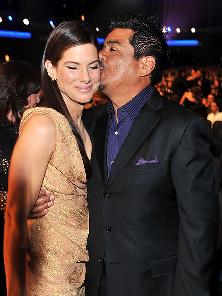photo | George Lopez, Sandra Bullock