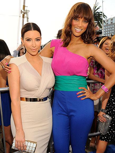 photo | Kim Kardashian, Tyra Banks