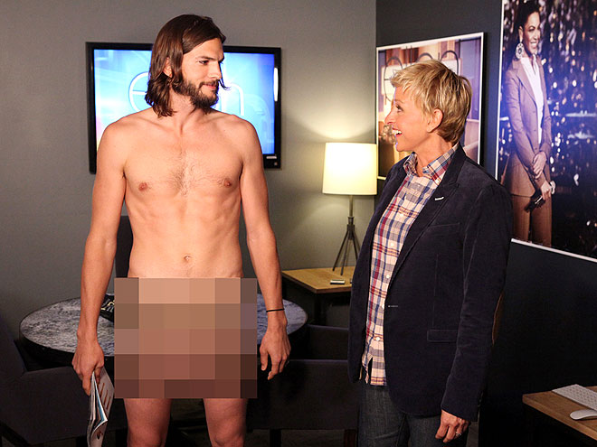 photo | Ashton Kutcher, Ellen DeGeneres