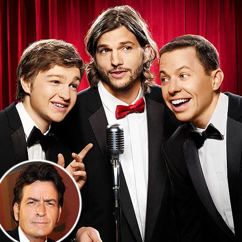 photo | Ashton Kutcher, Charlie Sheen, Jon Cryer