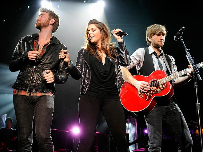  photo | Charles Kelley, Dave Haywood, Hillary Scott