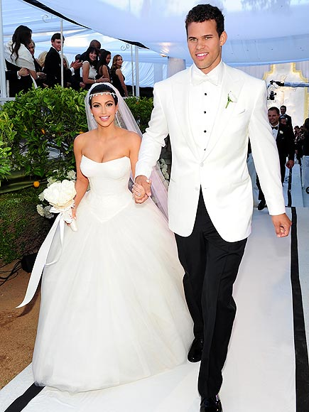 photo | Kim Kardashian, Kris Humphries