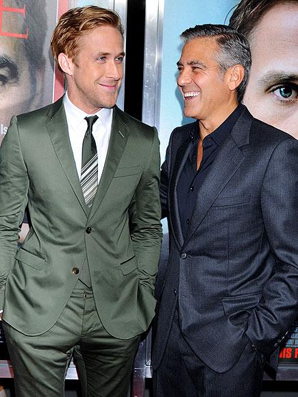 photo | George Clooney, Ryan Gosling