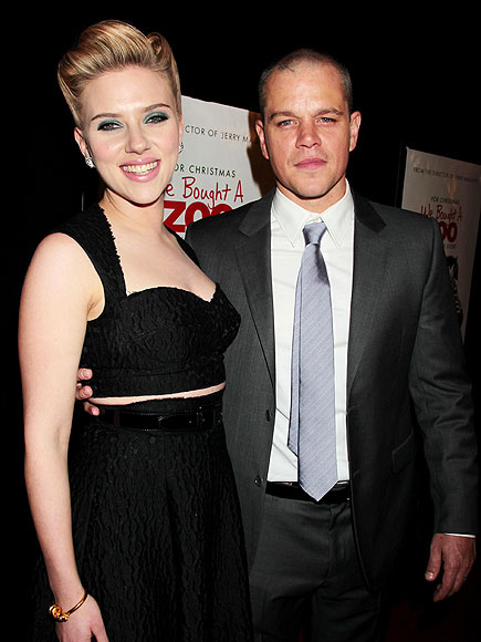 photo | Matt Damon, Scarlett Johansson