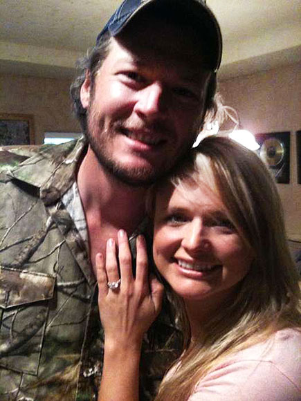 THE HAPPY COUPLE  photo | Blake Shelton, Miranda Lambert