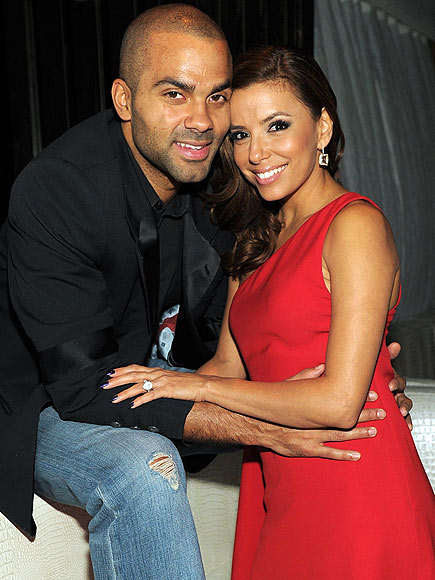 EVA LONGORIA & TONY PARKER