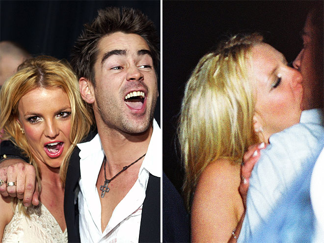 HOLLYWOOD HOOKUP  photo | Britney Spears, Colin Farrell