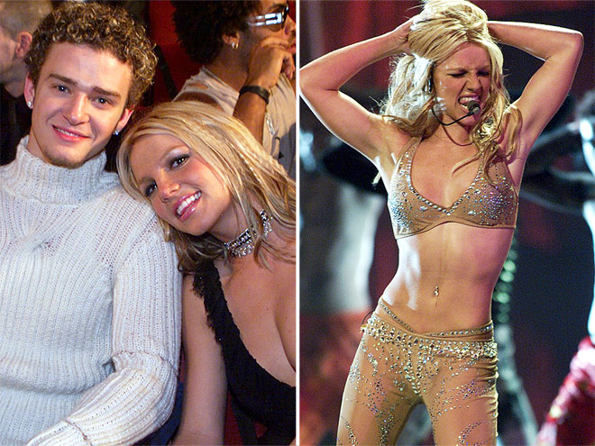 VMAS DOUBLE WHAMMY   photo | Britney Spears, Justin Timberlake