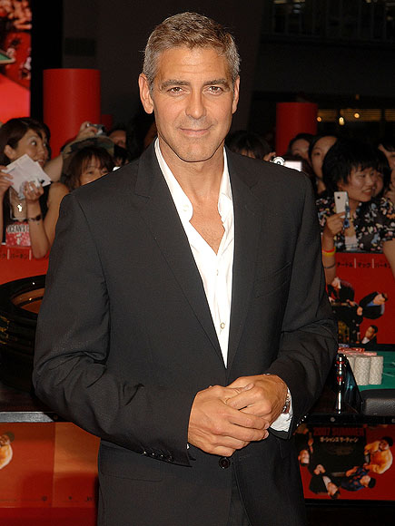LUCKY NUMBER THIRTEEN  photo   George Clooney