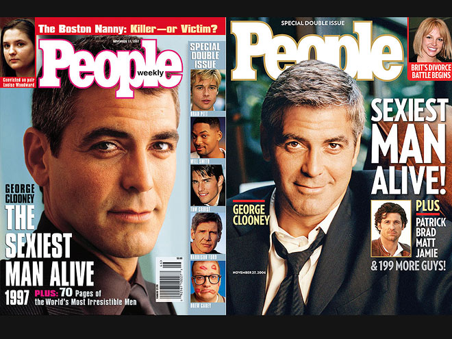 SEXY TIMES TWO  photo | George Clooney