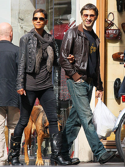 HALLE & OLIVIER  photo | Halle Berry, Olivier Martinez