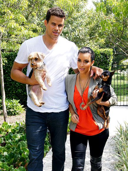 MUST LOVE DOGS   photo | Kim Kardashian, Kris Humphries