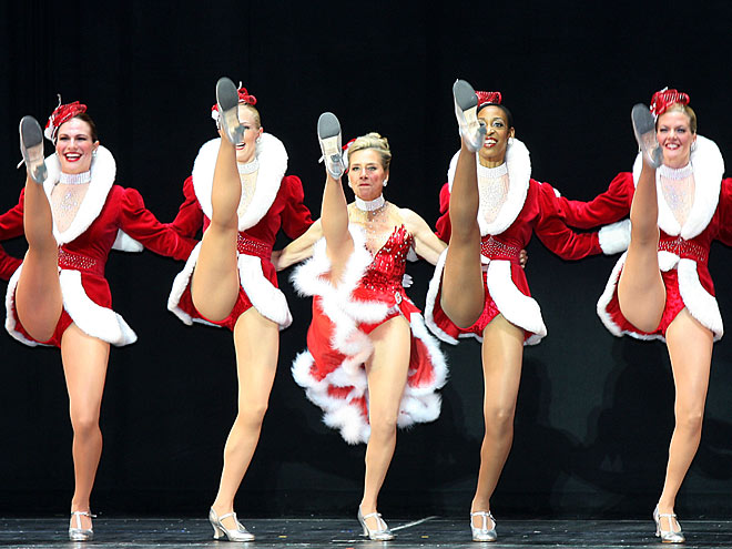 DANCING WITH THE ROCKETTES   photo | Meredith Vieira