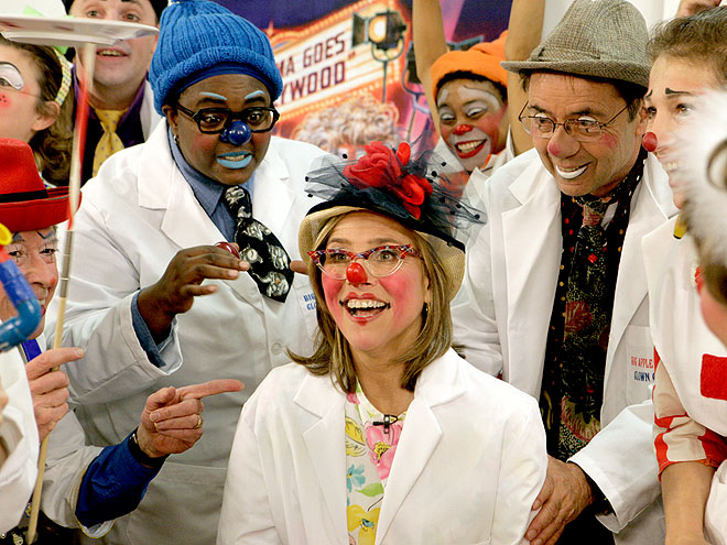 CLOWNING AROUND  photo | Meredith Vieira