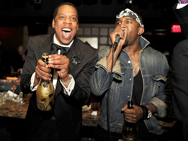 BOTTLE POPPERS photo | Jay-Z, Kanye West