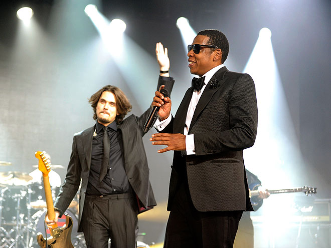 MEN IN BLACK photo | Jay-Z, John Mayer