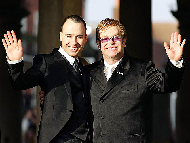 ELTON & DAVID BECOME DADS