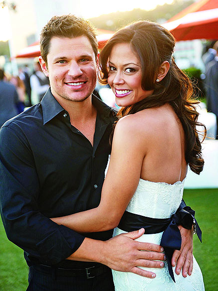 GOING TO THE CHAPEL  photo | Nick Lachey, Vanessa Minnillo