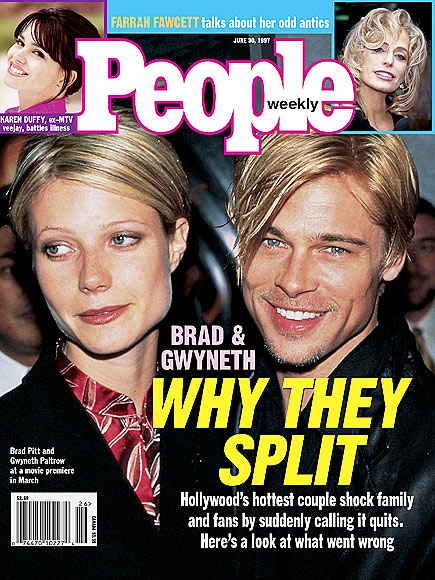BRAD PITT & GWYNETH PALTROW