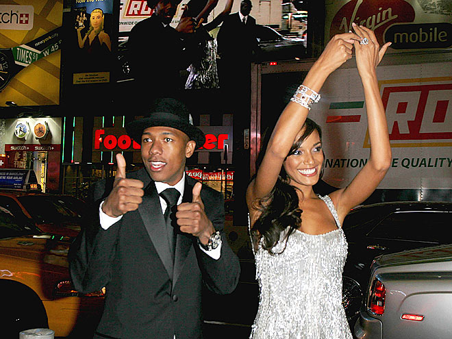 NICK CANNON & SELITA EBANKS