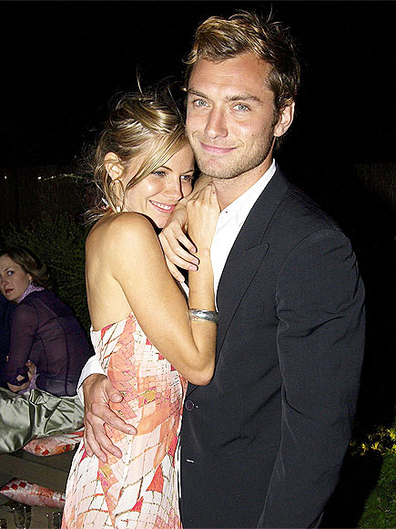 SIENNA MILLER & JUDE LAW