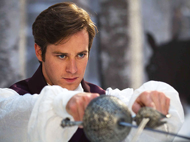 ARMIE HAMMER AS PRINCE ANDREW ALCOTT