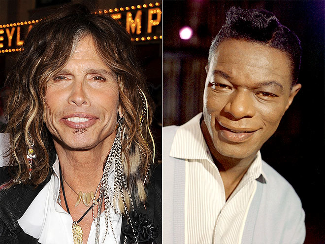 photo | Nat King Cole, Steven Tyler