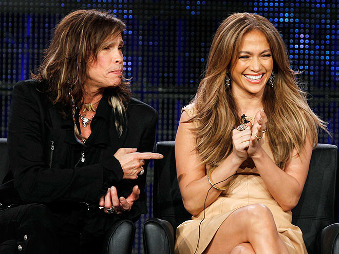 photo | Jennifer Lopez, Steven Tyler