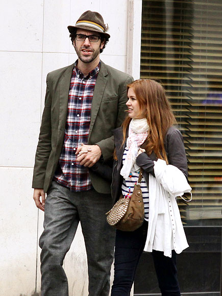 SACHA & ISLA   photo | Isla Fisher, Sacha Baron Cohen