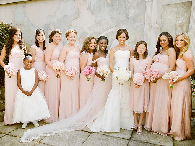 BLUSH AND BRIDE