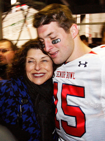 MAMA'S BOY photo | Tim Tebow