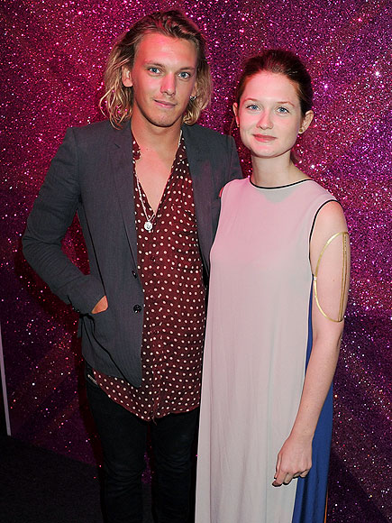 JAMIE CAMPBELL BOWER photo   Bonnie Wright, Jamie Campbell Bower