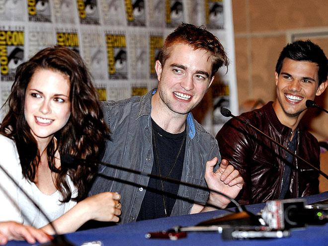 BIG REVEAL  photo | Kristen Stewart, Robert Pattinson, Taylor Lautner