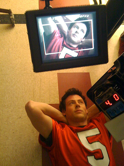 BREAK TIME photo | Cory Monteith