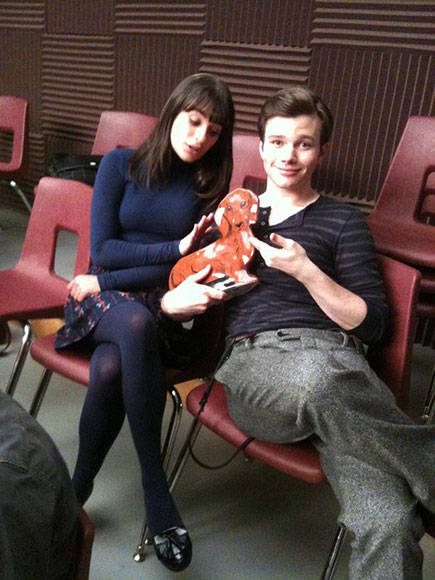 DOG DAYS photo | Chris Colfer, Lea Michele