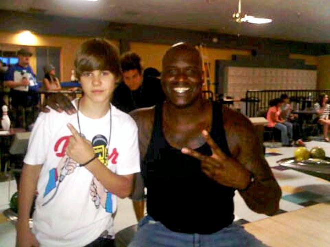 SHAQ  photo   Justin Bieber, Shaquille O'Neal