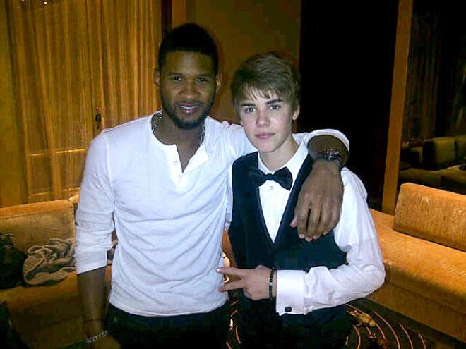 USHER  photo | Justin Bieber, Usher