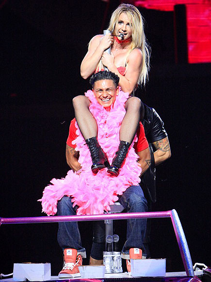 BRITNEY & PAULY D  photo | Britney Spears