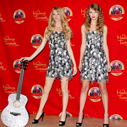 Taylor Swift  Figure on Takes    Taylor Swift   Madame Tussauds  Taylor Swift   People Com