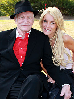 Hugh Hefner's Engagement Ring to Crystal Harris Revealed| Engagements, Crystal Harris, Hugh Hefner