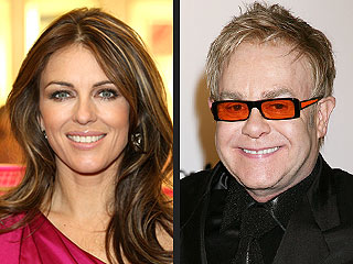 Elizabeth Hurley: Elton John Will Be a &#39;Wonderful&#39; Dad