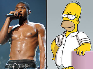 VIDEO: Usher, Homer Simpson Sing Same Tune