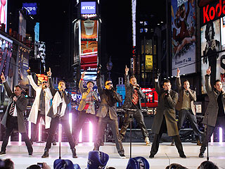 New Kids on the Block, Backstreet Boys&#39; New Year&#39;s Resolutions