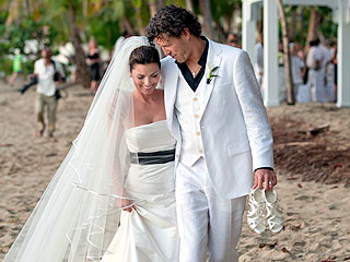 Shania Twain Wedding Photo