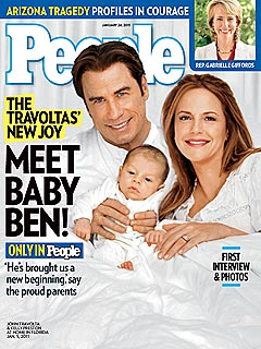 Meet John Travolta and Kelly Preston's New Baby | John Travolta, Kelly Preston