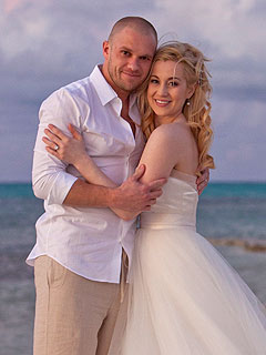 FIRST LOOK: Kellie Pickler&#39;s Wedding Photo