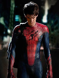 FIRST LOOK: Andrew Garfield Puts on the Spider-Man Suit