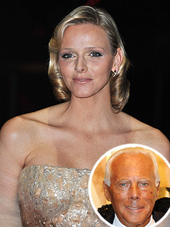 Armani Designing Wedding Dress for Royals of Monaco