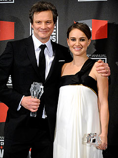 Natalie Portman and Colin Firth Are Critics' Choice Winners